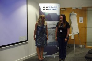 Belinda Waldock and Lyssa Crump Software Cornwall