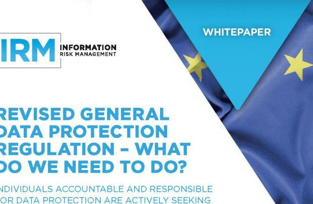 IRM: EU GDPR and Third Party Management guides