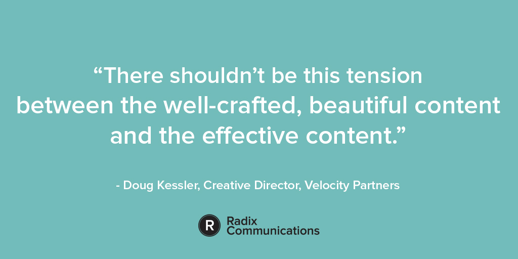 Doug Kessler B2B Content Quote