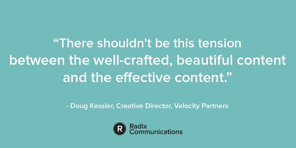 Doug Kessler B2B Content Quote