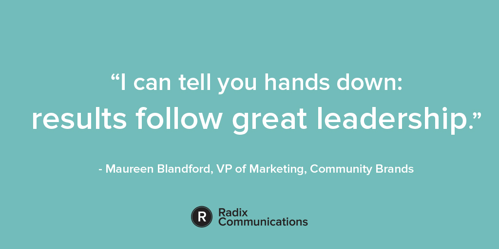 Maureen Blandford B2B leadership quote