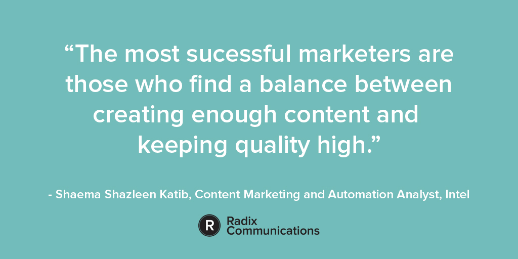 B2B marketing balance quote