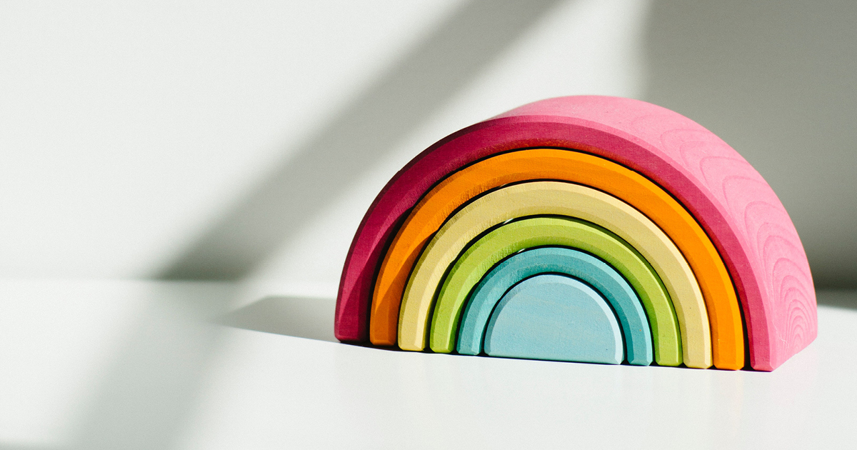 rainbow image - 7 ways to write content with real value