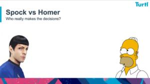 Spock v Homer